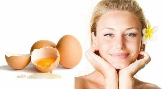 Маски для лица из яйца в домашних условиях