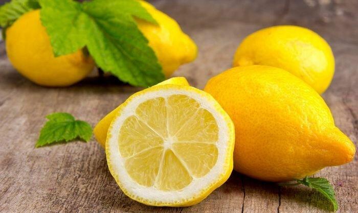 маски с лимоном