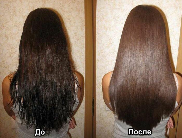 Кератиновое выпрямление волос в домашних условиях 46