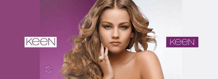 Keen официальный сайт косметика для волос