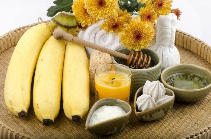 маски для лица с бананом