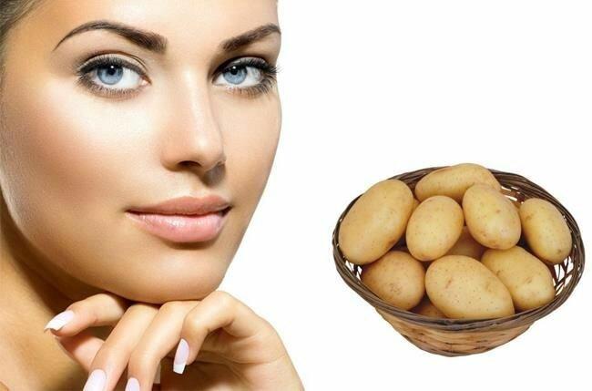 Маска из картофеля для лица. Топ-5 масок из картофеля для красоты кожи.