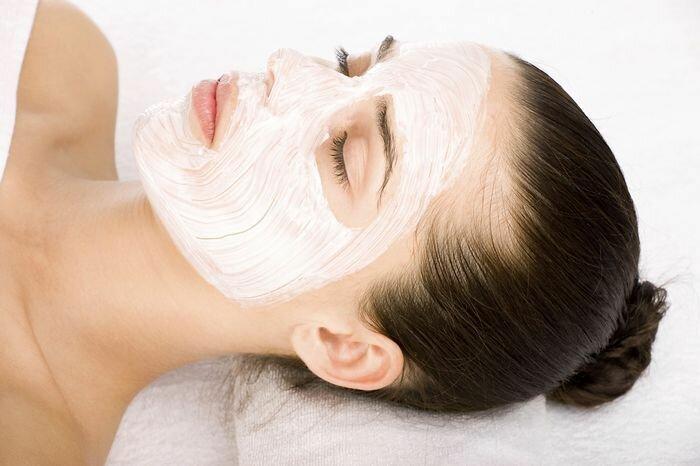 Рисовая маска для лица