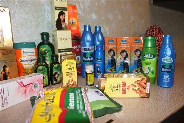 Индия косметика для волос