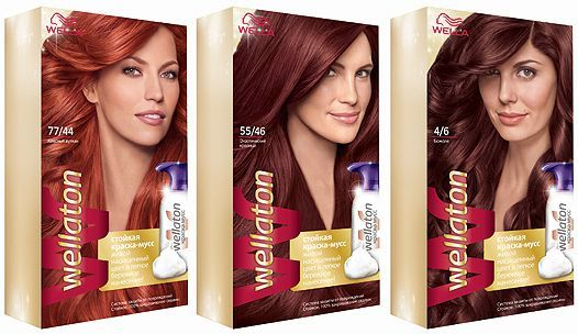 Краска для волос Wella, обзор и отзывы краски