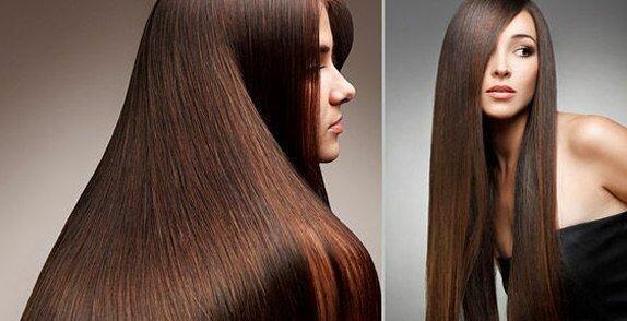 Убрать остатки кератина с волос