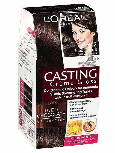 краска для волос кастинг палитра цветов