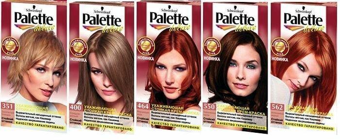 Краска для волос Schwarzkopf, палитра цветов и фото