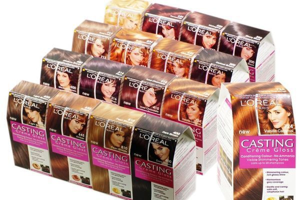 Краска для волос Кастинг крем глосс палитра – в чем преимущества?