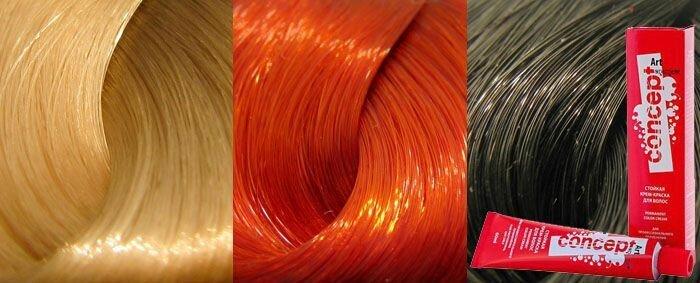 Краска для волос Палитра «Концепт» - разнообразие оттенков!