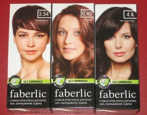 """Краска для волос """"Фаберлик"""" - отзывы покупателей."""