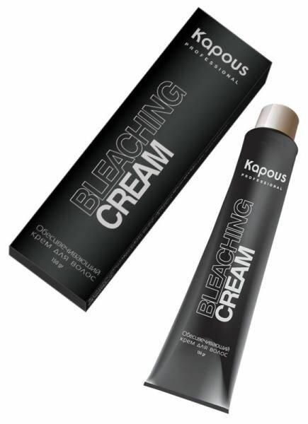Осветляющий крем для волос