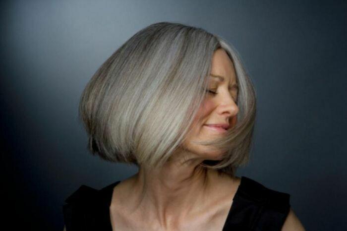 Какой цвет краски для седых волос выбрать