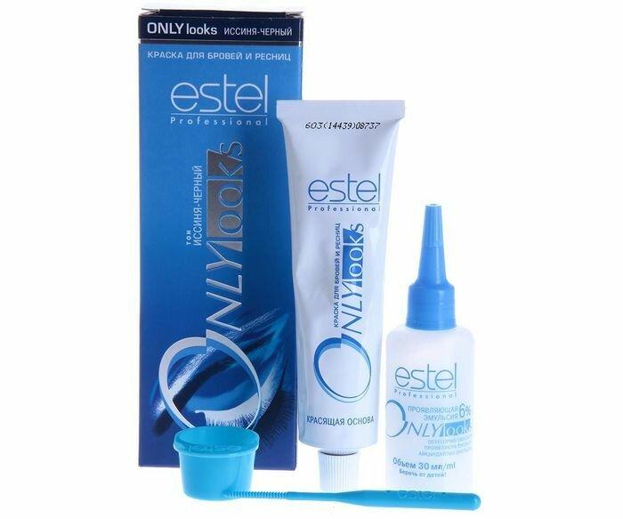 Краска для бровей и ресниц Estel: инструкция, отзывы