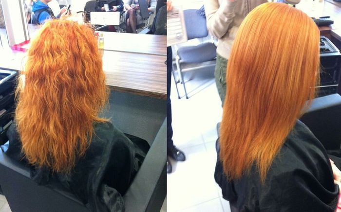 ботокс для волос фото отзывы