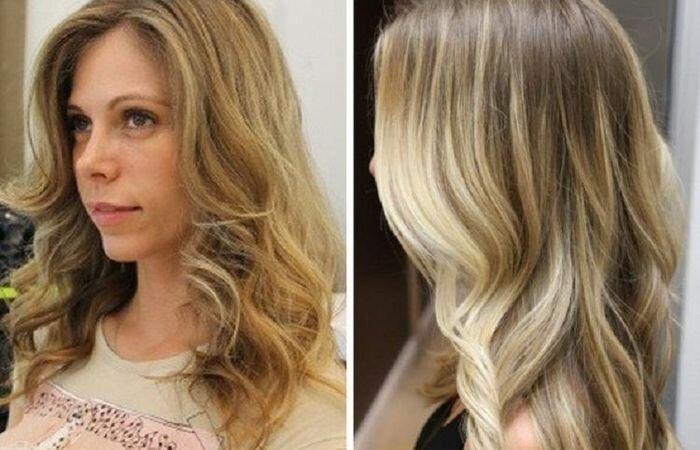 колорирование фото на светлые волосы фото