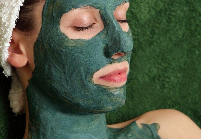 Зеленая глина для лица. Рецепты масок из зеленой глины