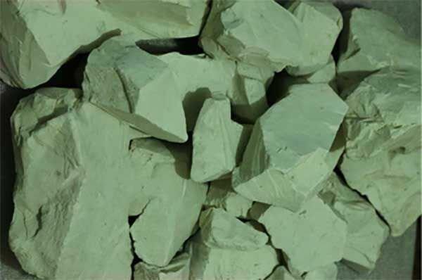 зеленая глина для лица