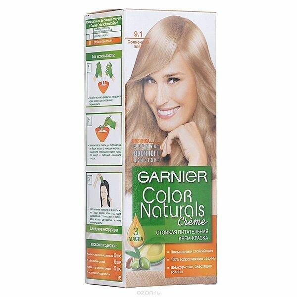 Краска для волос Гарньер : палитра цветов ( фото ) Подбери свой оттенок