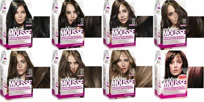 Краска-мусс для волос - выбираем лучший вариант.