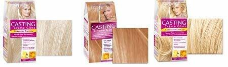 Краска для волос Кастинг, палитра цветов, фото
