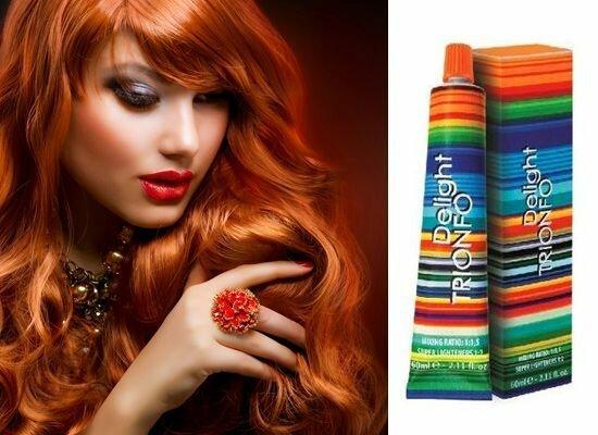 """Краска для волос """"Constant Delight"""" - палитра цветов и отзывы."""