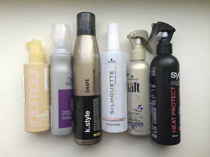 Спрей для укладки волос, какой купить, отзывы