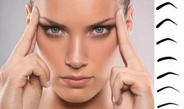 Как сделать красивые брови в домашних условиях