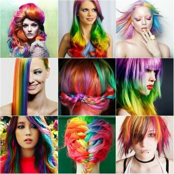 Спрей краска для волос – свойства и эффект