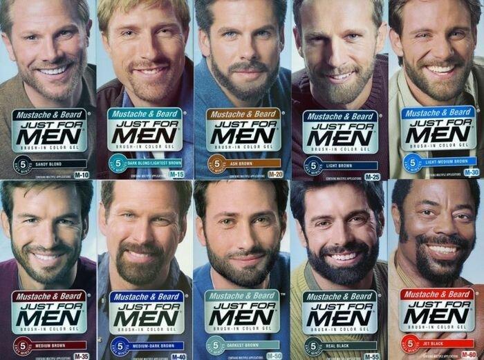 Мужская краска для волос - особенности и советы.