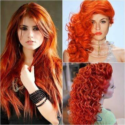 Какую краску для волос рыжего цвета выбрать
