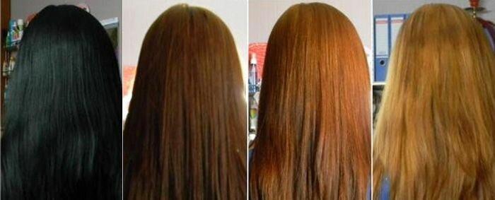 Смывка краски с волос, как правильно смыть краску ?