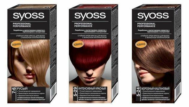 Краска для волос Syoss, качество и надежность !